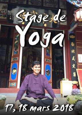 Stage de Yoga, méditation et Loi d'attraction mars 2018