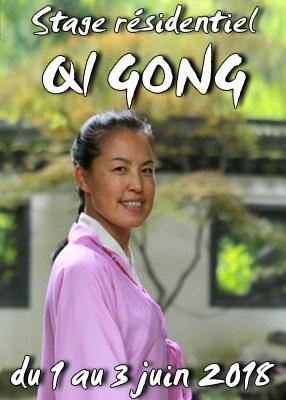 Stage résidentiel de Qi Gong et méditation