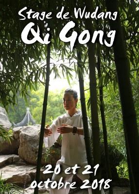 Stage de Wudang Qi Gong octobre 2018