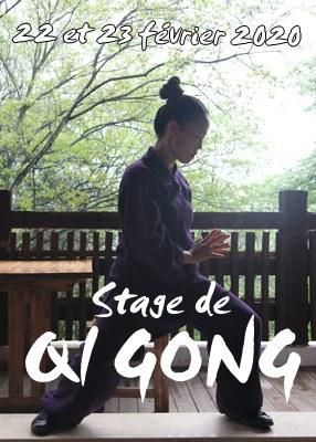 Stage de Qi Gong des Tendons / Yi Jin Jing