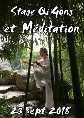 Stage Qi Gong 8 Pièces de Brocart et Méditation Vipassana