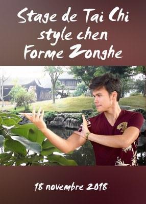 Stage de Tai Chi style Chen Forme Zonghe