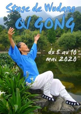 Stage de Wudang Qi Gong - booster votre Immunité 8 au 10 mai 2020