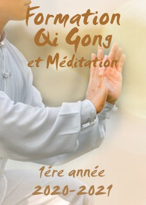 Formation en Qi Gong et Méditation 2020-2021<br>1ere année