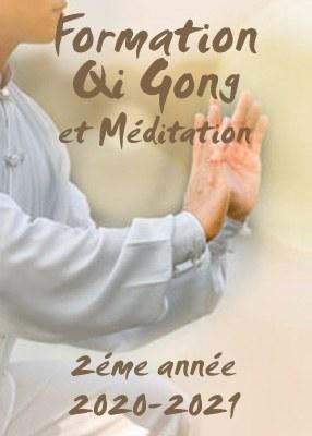 Formation en Qi Gong et Méditation 2020-2021<br>2éme année