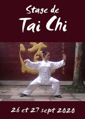 Stage de Tai Chi tous niveaux-26 et 27 sept 2020 Lyon